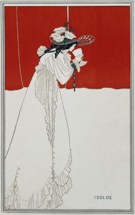Isolde, by Aubrey Beardsley