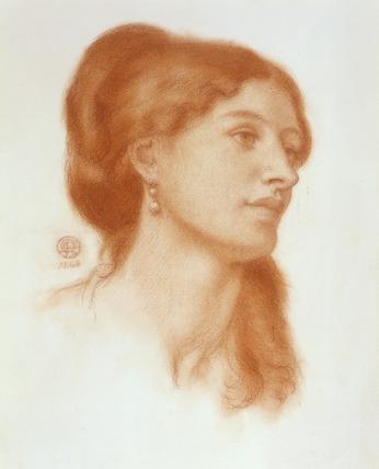 Louisa Marks, by Dante Gabriel Rossetti