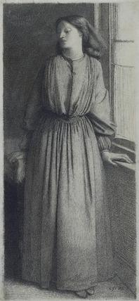 Elizabeth Siddal, by Dante Gabriel Rossetti