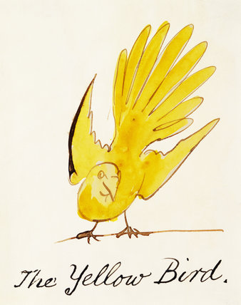 The Yellow Bird, by Edward Lear
