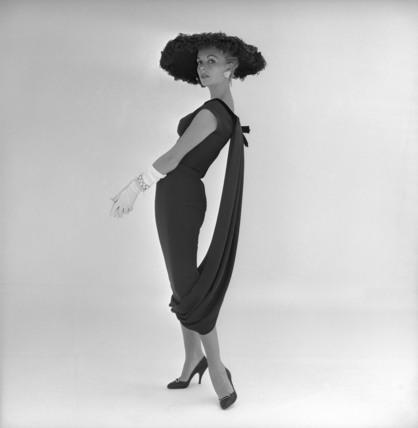 Model in dress by John Cavanagh