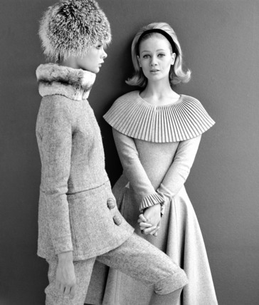 Jean Shrimpton and Celia Hammond in Mary Quant designs