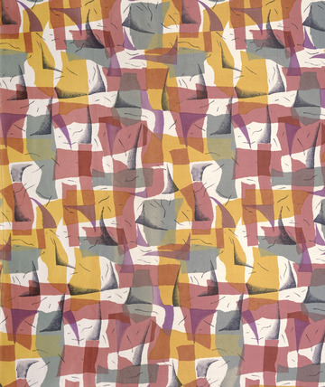 Spago furnishing fabric. US, 1957