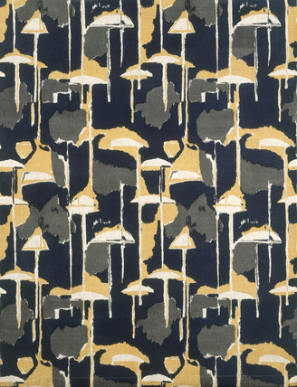 Ormeggio furnishing fabric. Italy, 1954