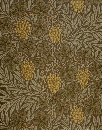 Vine wallpaper, by William Morris