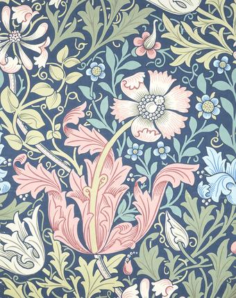 Compton wallpaper, by William Morris