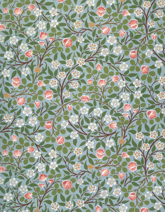 Clover Wallpaper By William Morris