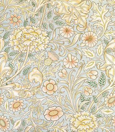 Double Bough wallpaper, by William Morris