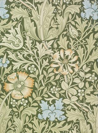 Compton Wallpaper By William Morris Memoryprints Com