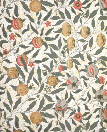 Fruit wallpaper, by William Morris