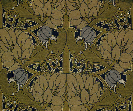 Furnishing fabric, by C.F.A.Voysey