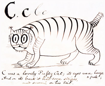The letter C, by Edward Lear