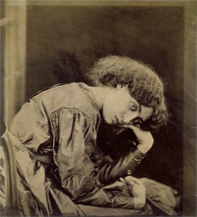 Jane Morris, photo Dante Gabriel Rossetti
