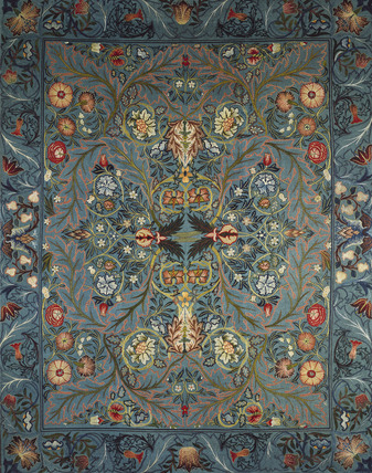 Acanthus bed cover, by William Morris