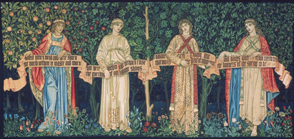 The Orchard, the Seasons, by William Morris