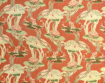 Printed cotton. England, 1903