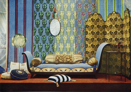 Interior from the 1913 Salon D'Automne in Paris