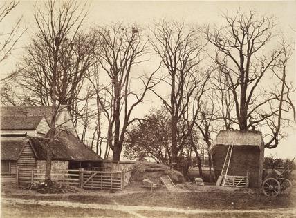 Farm Yard, photo Benjamin Brecknell Turner