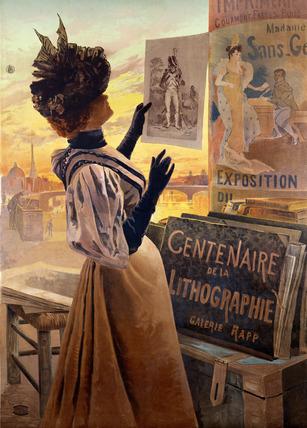 Exposition du Centenaire de la Lithographie, by F. Hugo d'Alesi