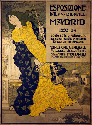 Esposizione Internazionale di Madrid, by Eugene Samuel Grasset