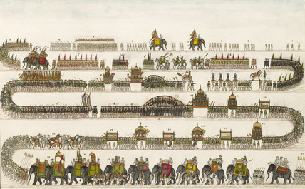 The Muharram Procession at Faizabad in 1772