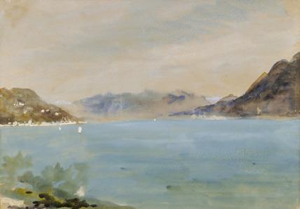 Lago Maggiore, by H.B. Brabazon