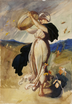 Autumn, by Louisa, Marchioness of Waterford