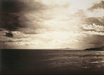 Cloudy Sky, Mediterranean Sea, by Gustave Le Gray