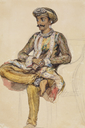 Ganpat Rao, Gaekwar of Baroda