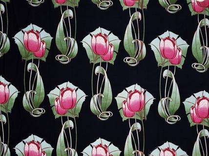 Tulip, fabric design