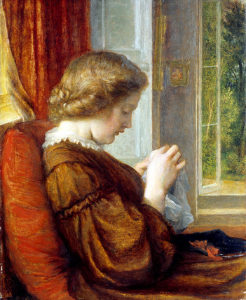 The Window Seat, by George Frederick Watts