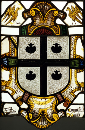 Panel of Arms of Coggeshall