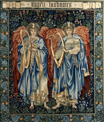Angeli Laudantes, by Sir Edward Coley Burne-Jones