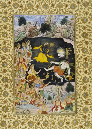 Krishna kills Nikumbha
