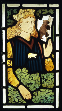 The Prince panel, by Edward Burne-Jones and William Morris, Marshall and Faulkner & Co