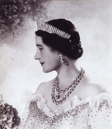 The Queen Mother, photo Cecil Beaton