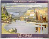 'Brixham', GWR poster, 1923-1947.