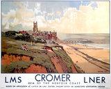 'Cromer', LMS/LNER poster, 1923-1947.