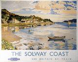'The Solway Coast - Kippford', BR (ScR) poster, 1948-1965.