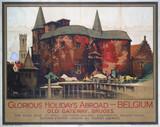 'Old Gateway, Bruges', SR poster, 1928.