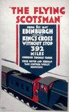 The Flying Scotsman', LNER poster, 1923-1947.