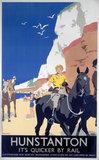 'Hunstanton', LNER poster, 1923-1947.