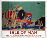 'Isle of Man', LMS poster, c 1920s.