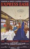 'Express Ease', LNER poster, 1923-1930.