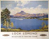 'Loch Lomond', BR poster, 1959.