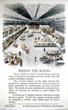 'Behind the scenes', Railway Executive poster, 1951.