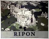 'Ripon', LNER poster, 1923-1947.