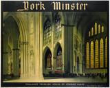 'York Minster', LNER poster, 1923-1947.
