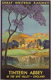 'Tintern Abbey', GWR poster, 1930.
