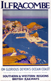 'Ilfracombe - on Glorious Devon's Ocean Coast', BR poster, 1948.